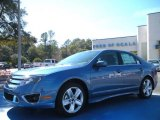 2010 Sport Blue Metallic Ford Fusion Sport #25299867