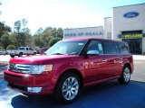 2010 Red Candy Metallic Ford Flex Limited #25299869
