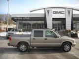 2002 Pewter Metallic GMC Sonoma SLS Crew Cab 4x4 #25299979