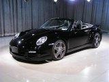 2008 Black Porsche 911 Turbo Cabriolet #253226