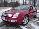 2008 Redfire Metallic Ford Fusion SEL V6 #25299885