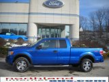 2010 Blue Flame Metallic Ford F150 FX4 SuperCab 4x4 #25299776