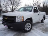 2009 Summit White Chevrolet Silverado 1500 Regular Cab #25299890