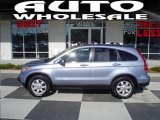 2008 Glacier Blue Metallic Honda CR-V EX-L 4WD #25300164
