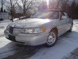 2000 Silver Frost Metallic Lincoln Town Car Cartier #25299897