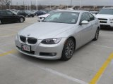 2007 Titanium Silver Metallic BMW 3 Series 328i Coupe #25300176