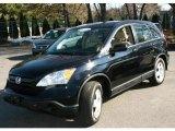 2007 Nighthawk Black Pearl Honda CR-V LX 4WD #25299806