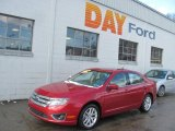 2010 Sangria Red Metallic Ford Fusion SEL V6 #25299815