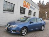 2010 Sport Blue Metallic Ford Fusion SEL V6 #25299816
