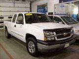 2005 Summit White Chevrolet Silverado 1500 LS Extended Cab 4x4 #25300207