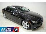2007 Jet Black BMW 3 Series 335i Coupe #25300043