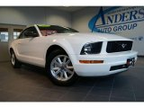 2007 Performance White Ford Mustang V6 Premium Convertible #25300250
