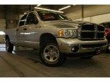 2005 Bright Silver Metallic Dodge Ram 1500 SLT Quad Cab 4x4 #25300257