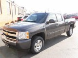 2010 Taupe Gray Metallic Chevrolet Silverado 1500 LT Extended Cab 4x4 #25300319