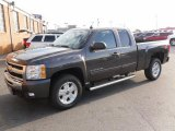2010 Taupe Gray Metallic Chevrolet Silverado 1500 LT Extended Cab 4x4 #25300321