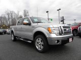 2010 Ingot Silver Metallic Ford F150 Lariat SuperCrew 4x4 #25352528