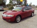 2008 Vivid Red Metallic Lincoln MKZ Sedan #25352886