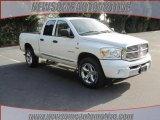 2008 Bright White Dodge Ram 1500 SLT Quad Cab 4x4 #25352896