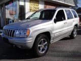 2002 Bright Silver Metallic Jeep Grand Cherokee Overland 4x4 #25352696