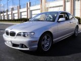 2004 Titanium Silver Metallic BMW 3 Series 330i Coupe #25352702