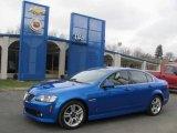 2009 Stryker Blue Metallic Pontiac G8 Sedan #25352450