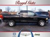 2003 Black Dodge Ram 1500 Laramie Quad Cab 4x4 #25352349