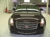 2009 Black Cherry Cadillac CTS Sedan #25352460