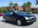 2008 Black Ebony Ford Fusion SEL V6 #25352482