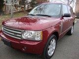 2006 Alviston Red Mica Land Rover Range Rover HSE #25352766