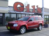 2006 Inferno Red Crystal Pearl Jeep Grand Cherokee Laredo 4x4 #25401130