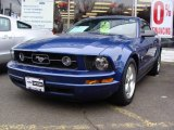 2007 Vista Blue Metallic Ford Mustang V6 Premium Convertible #25401168