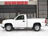 2006 Summit White Chevrolet Silverado 1500 LS Regular Cab 4x4 #25401234