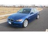 2007 Montego Blue Metallic BMW 3 Series 335i Sedan #25414880