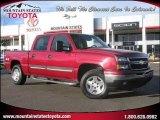 2006 Victory Red Chevrolet Silverado 1500 LT Crew Cab 4x4 #25415010