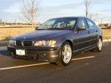 2002 Steel Grey Metallic BMW 3 Series 330i Sedan #25414884