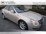 2009 Gold Mist Cadillac CTS Sedan #25415024