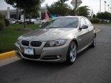 2009 Platinum Bronze Metallic BMW 3 Series 335i Sedan #25414903