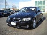 2009 Jet Black BMW 3 Series 328i Sedan #25414909