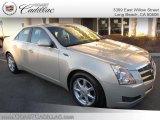 2009 Gold Mist Cadillac CTS Sedan #25415026