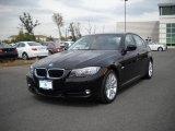 2009 Jet Black BMW 3 Series 328i Sedan #25414932