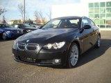 2008 Jet Black BMW 3 Series 328i Coupe #25414940