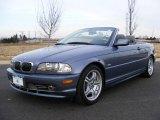 2002 Steel Blue Metallic BMW 3 Series 330i Convertible #25414953
