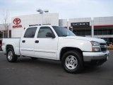 2006 Summit White Chevrolet Silverado 1500 Z71 Crew Cab 4x4 #25414978