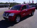 2007 Red Alert Nissan Titan SE King Cab #25415344