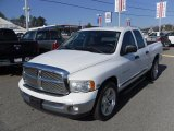 2003 Bright White Dodge Ram 1500 SLT Quad Cab #25415348