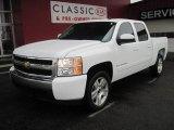 2008 Summit White Chevrolet Silverado 1500 LT Crew Cab #25415152
