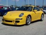 2008 Speed Yellow Porsche 911 Carrera S Coupe #222663