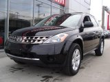 2007 Super Black Nissan Murano S #25458778