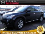 2007 Super Black Nissan Murano SL AWD #25458740