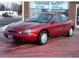 1997 Toreador Red Metallic Ford Taurus GL #25464275